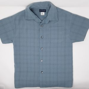 In Design | Boyswear Blue Plaid Button Down